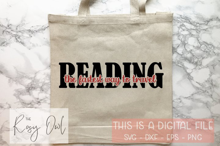 Reading / Book Lover SVG PNG DXF EPS