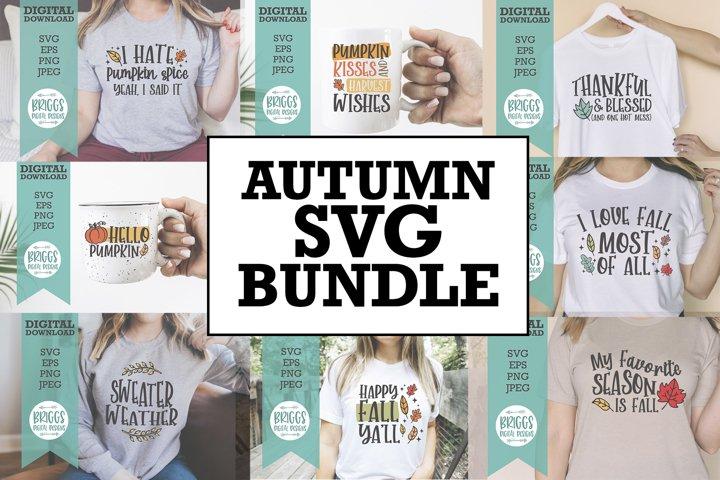 Autumn SVG Bundle| Fall Shirt SVG Bundle