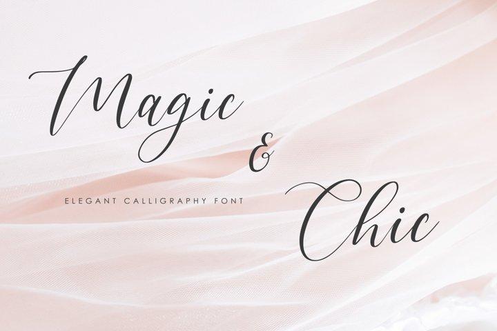 Magic & Chic Script Font