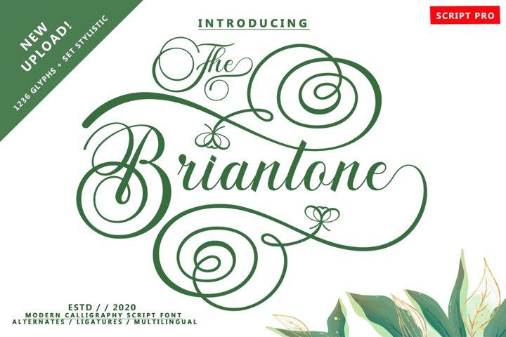 Briantone Script Pro