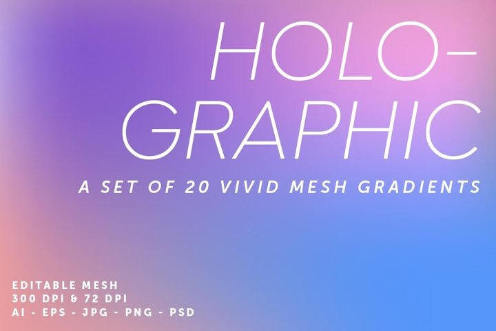20 Holographic Gradients