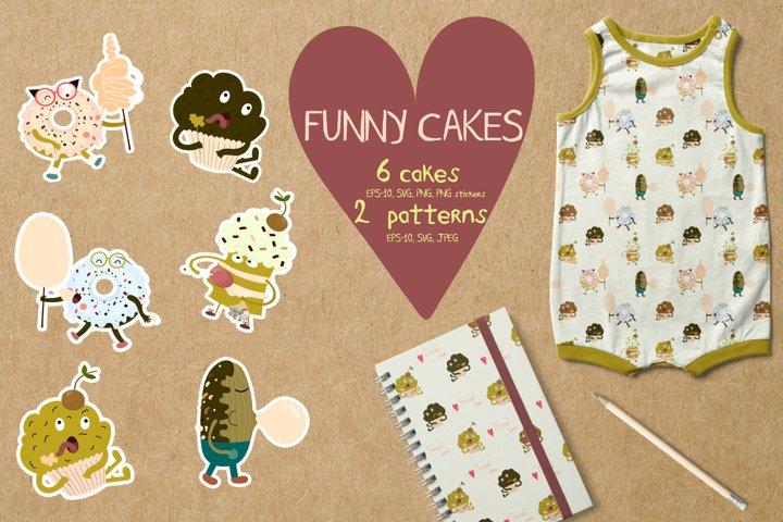 Funny cakes bundles