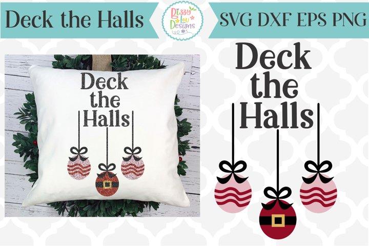 Deck the Halls Christmas SVG