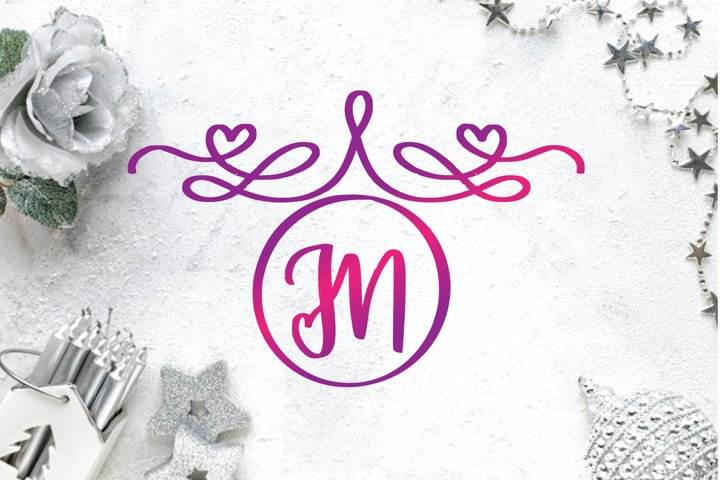 monogram decorative