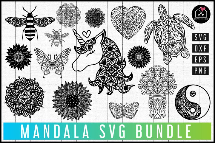 Mandala SVG Bundle | MB74