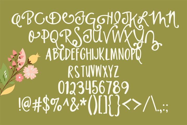 PN Housewife - Free Font of The Week Design1
