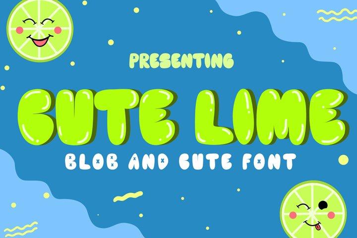 Cute Lime