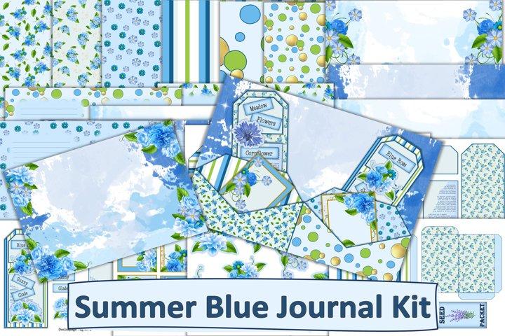Junk Journal Kit with Free Ephemera JPEG, PDF, PNG