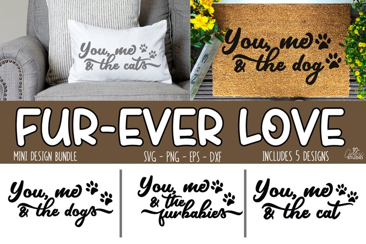 You, me, and the animals - Cute cat and dog quotes
