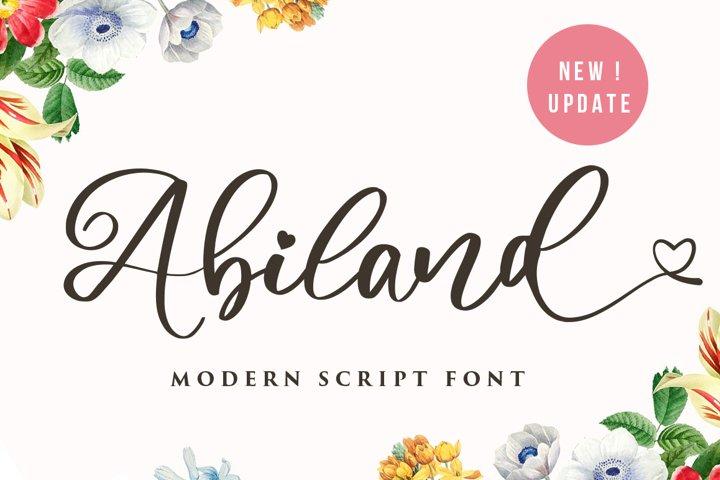 Abiland Script