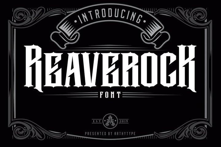 Reaverock Display Font