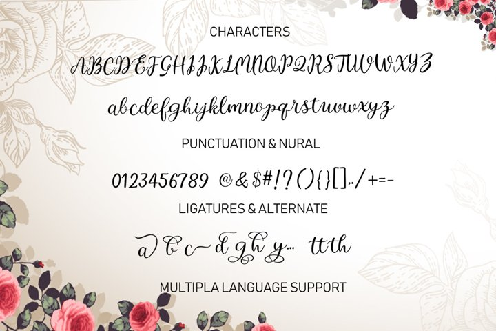 Intybus Script - Free Font of The Week Design5