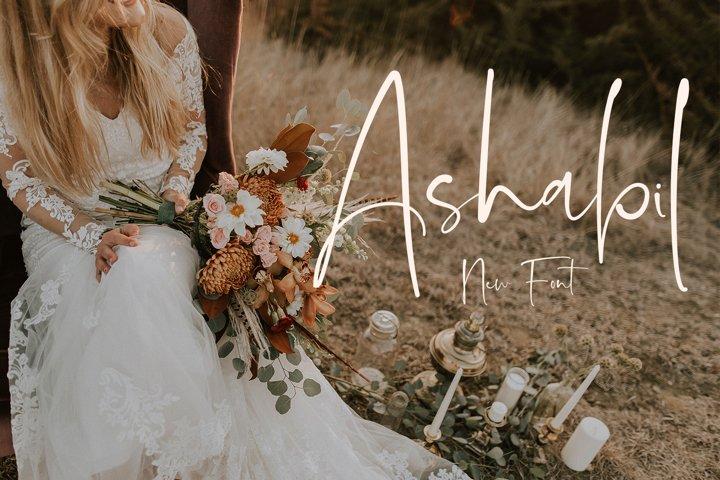 Ashabil - Best Font Script