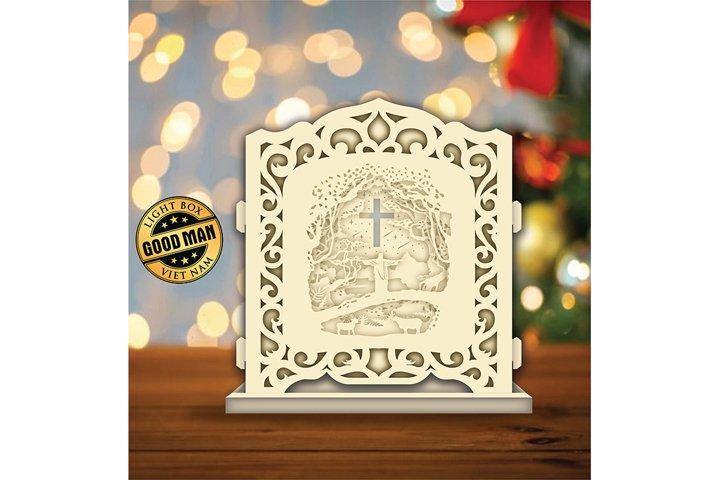 JESUS3D Pop-up Light Box - Shadow Box