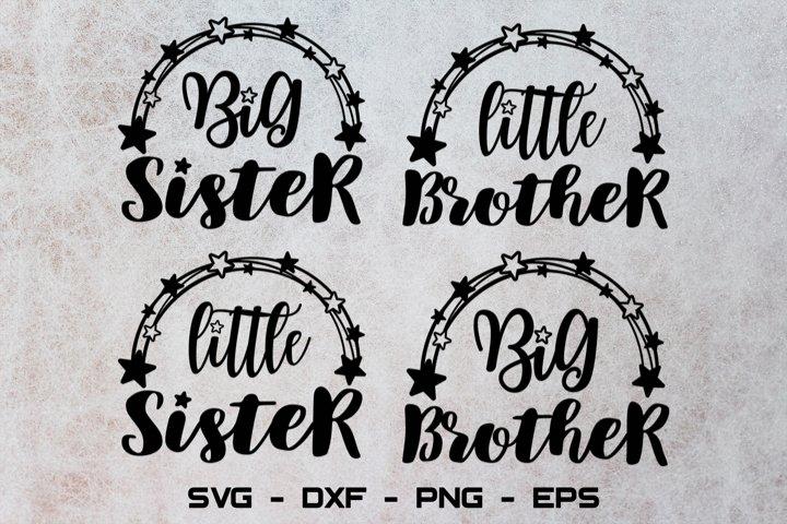 Big brother svg, Big sister svg, Sibling svg