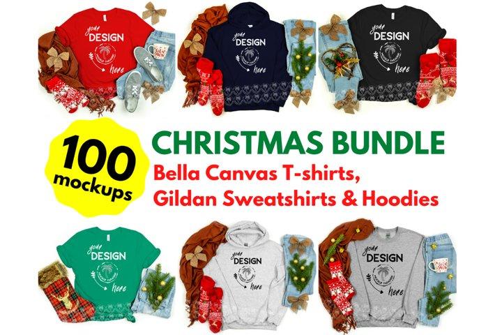 Tshirt Mockup Bundle - Bella Canvas - Gildan Mockup Bundle