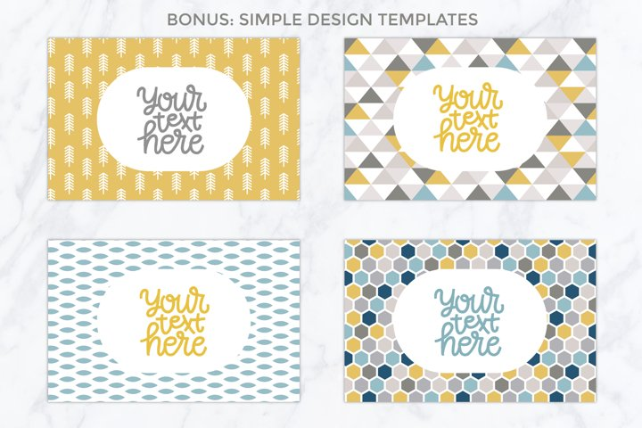 26 vector patterns Trendy Colors example 6