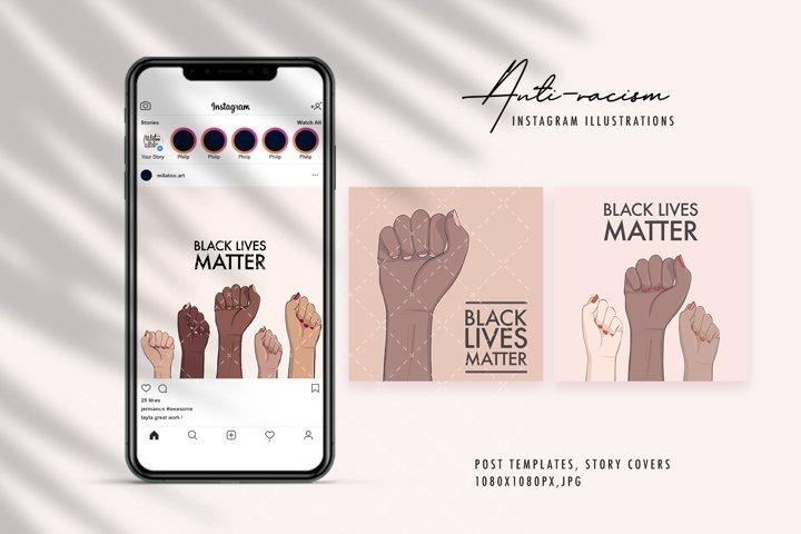 Black lives matter racism protest xenophobia, intolerance
