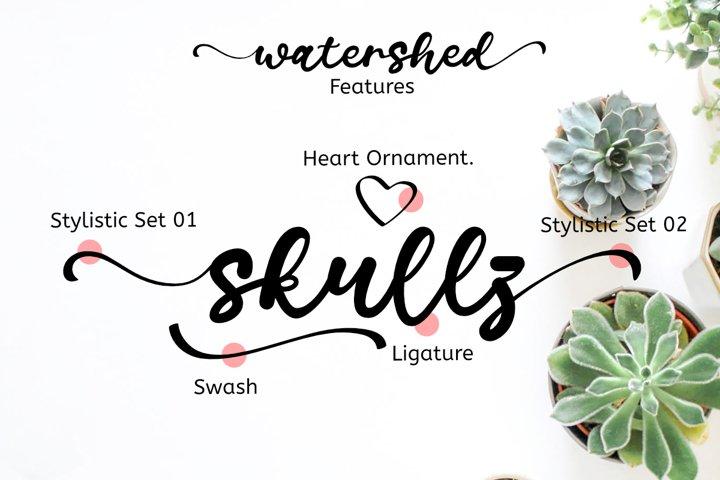 Watershed Script example 5