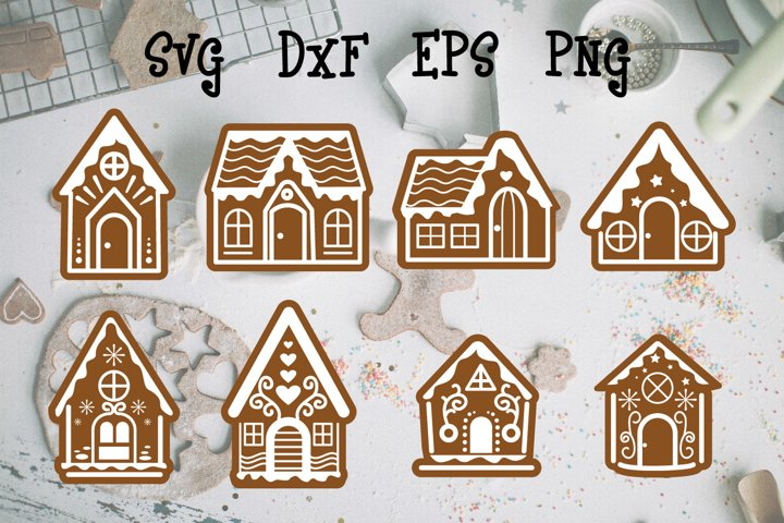 gingerbread house File Cut
