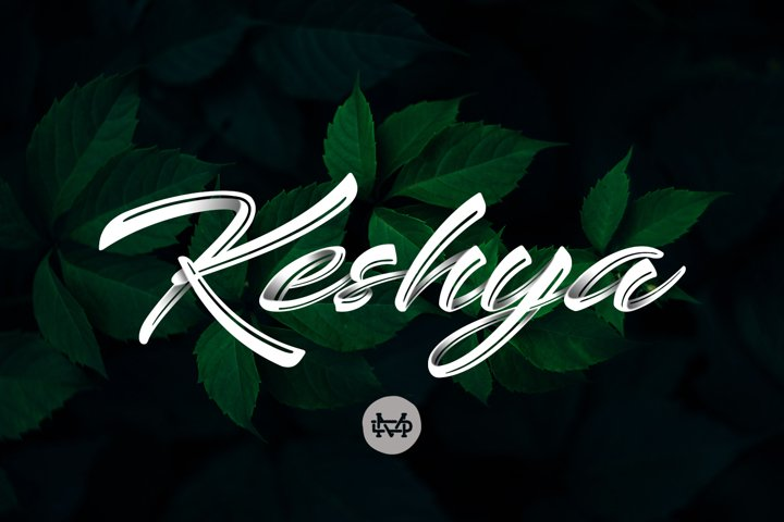 Keshya - Beautiful Script