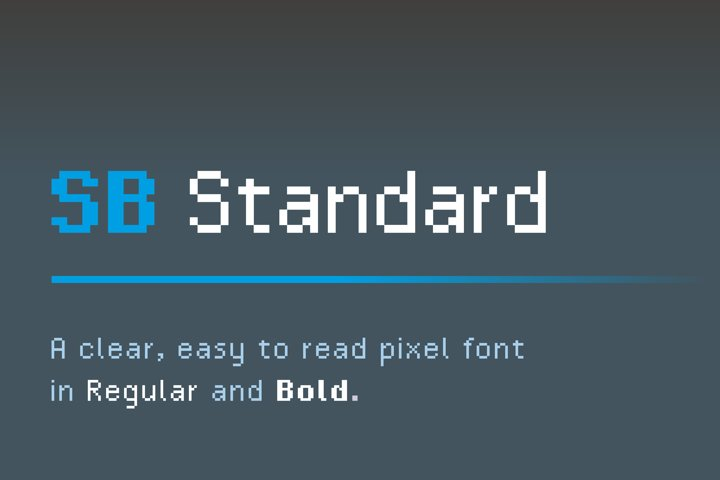 SB Standard - Pixel Font