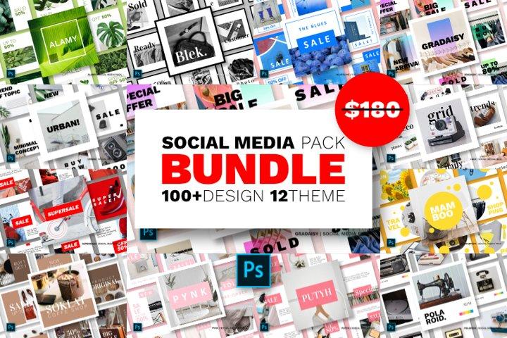 Social Media Bundle - Vol.03