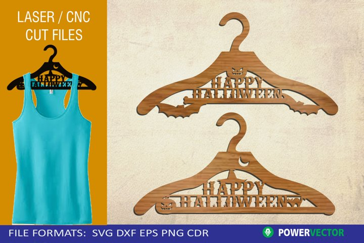 Halloween Hanger Laser CNC Cutting Template for Crafters