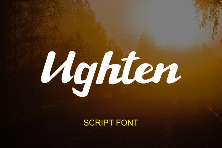 Ughten