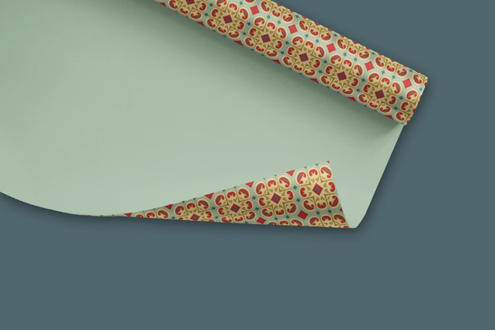 38 Arabesque Papers JPG & 20 Seamless Tiles PS Patterns PAT example 4