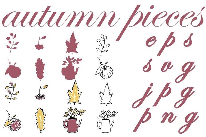 Autumn pieces