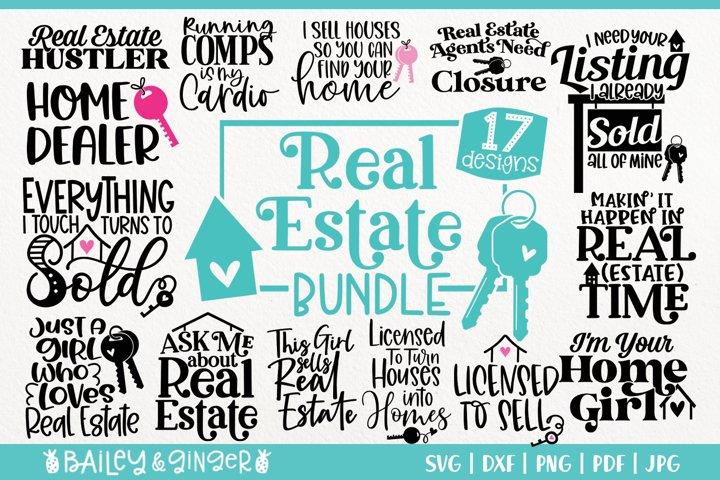 Real Estate Agent SVG Bundle - 17 Designs