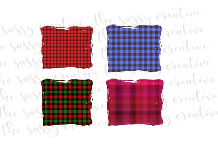 Sublimation Designs | Christmas Buffalo Plaid PNG Bundle