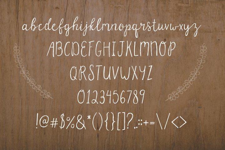 Parsnips Rustic Handwritten Script - Free Font Of The Week Design0