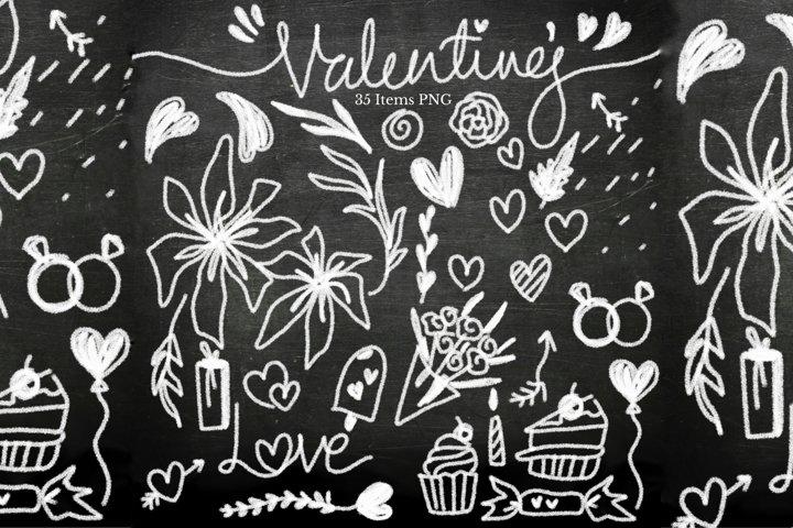 Valentines Chalk Board-Mini Bundle