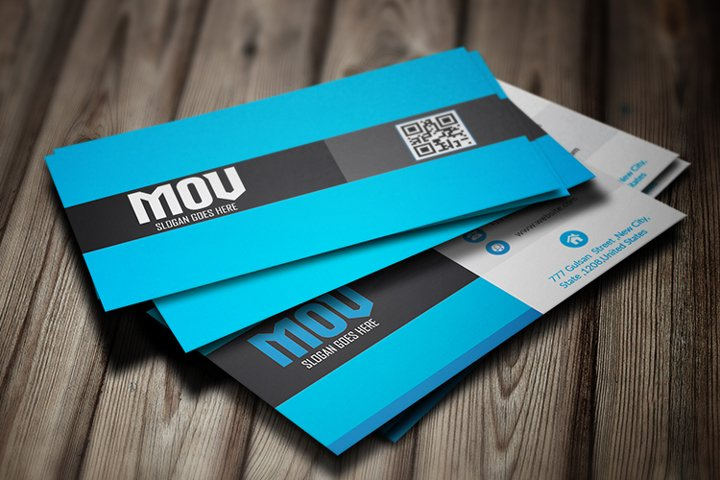 Colorful Business Card Template V3