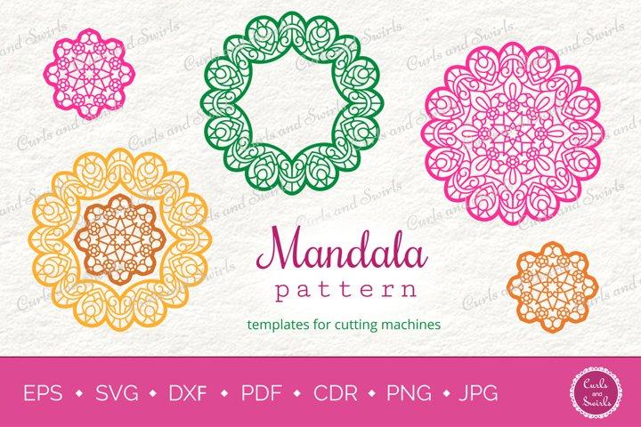 Mandala Ornaments SVG