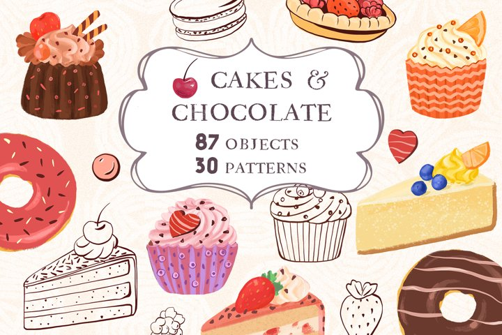 Cakes & Chocolate Collection