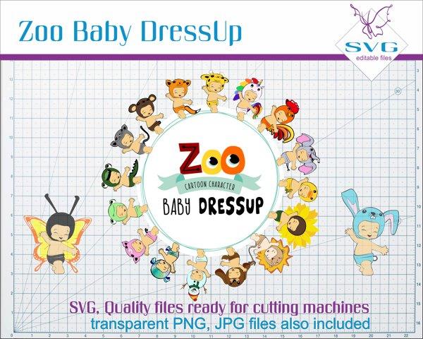 Zoo Baby Dressup