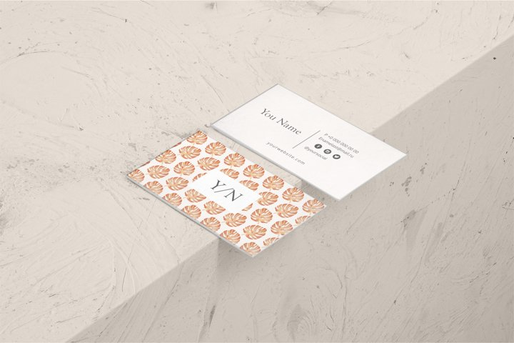 Minimalist Business Card Design - Clean and Professional