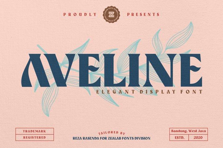 Aveline Elegant Font