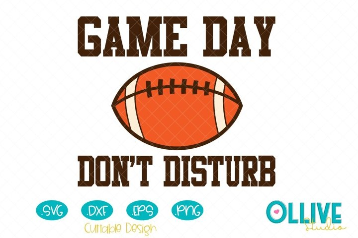 Football Game Day Svg