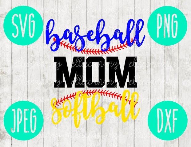 Softball Baseball Mom