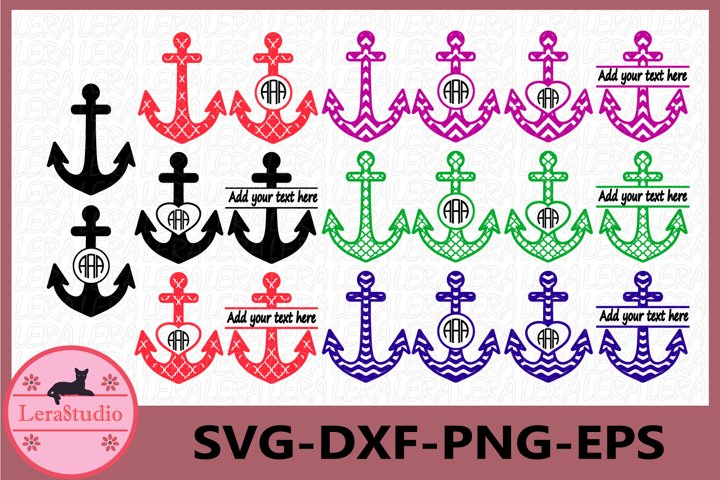 Anchor SVG Files, Anchors Svg, Dxf, Png, Ai File, Anchors