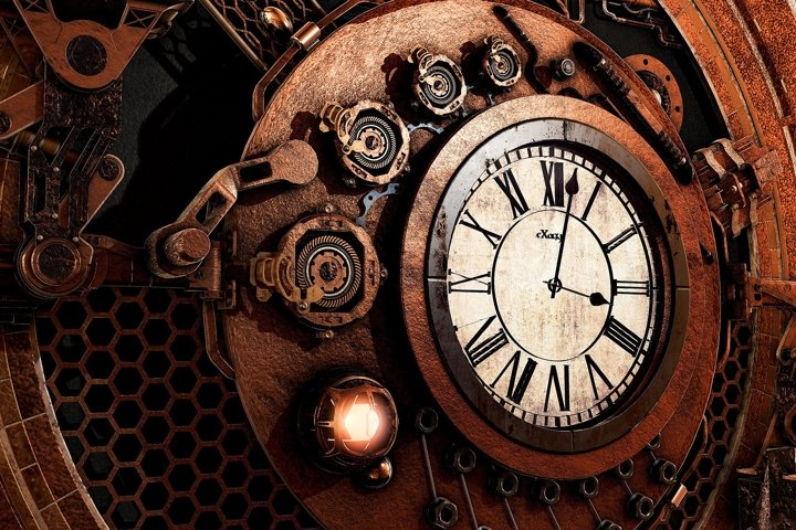 STEAMPUNK pack of 102 images in high resolution 96dpi