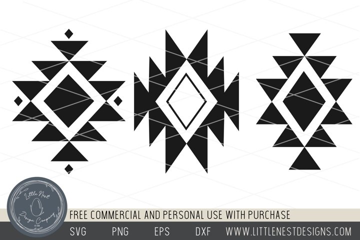 Tribal Pattern - SVG pattern - Boho Tribal Pattern SVG