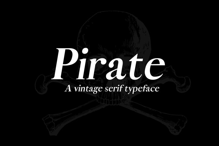 Pirate Typeface