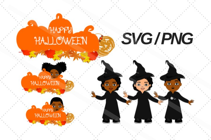 Halloween svg, fall, Afro svg, png, African american svg,