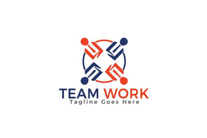 Team Work Logo Design.