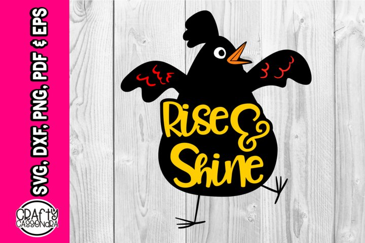 Rise and shine - part of Chicken bundle
